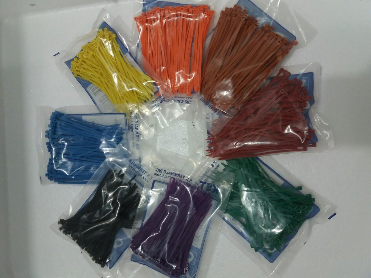 Bịch 100 dây rút nhựa 10cm mua 10 tặng 1