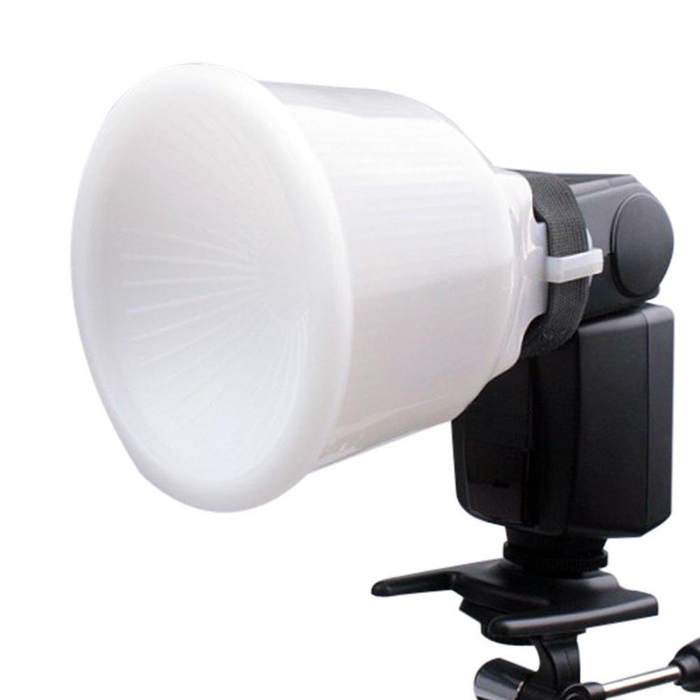 Chén tản sáng đèn flash lambency 2 màu chỉnh được đuôi cho các loại đèn