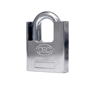 Khoá chống cắt toàn diện size đại 60mm - khóa chống đập, chìa khóa được thiết kế đặc biệt không thể rút ra được khi khóa đang ở trạng thái mở. thumbnail