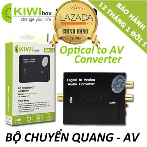 Bộ chuyển đổi âm thanh KIWI từ Optical sang Analog KA-02