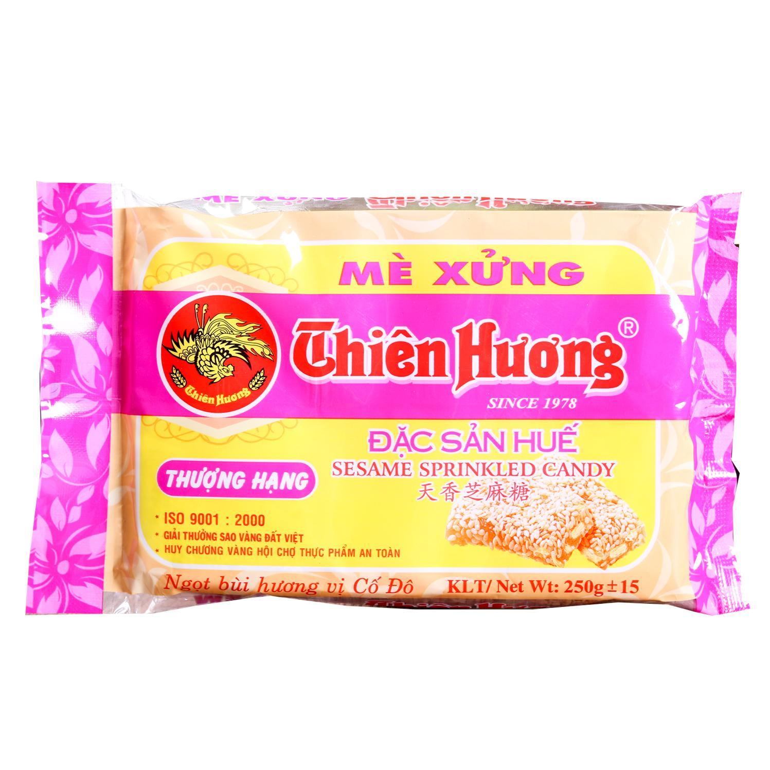 Mè xửng Thiên Hương Huế Thượng Hạng túi 250g