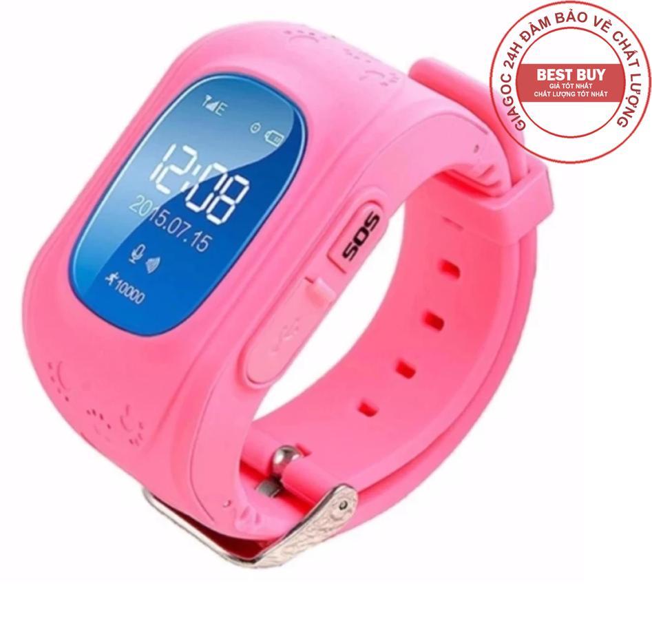 Đồng hồ định vị GPS Q50  siêu rẻ - Hồng