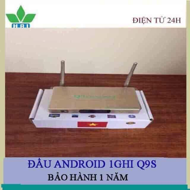 ĐẦU Smart TV Q9s , bảo hành 12 tháng