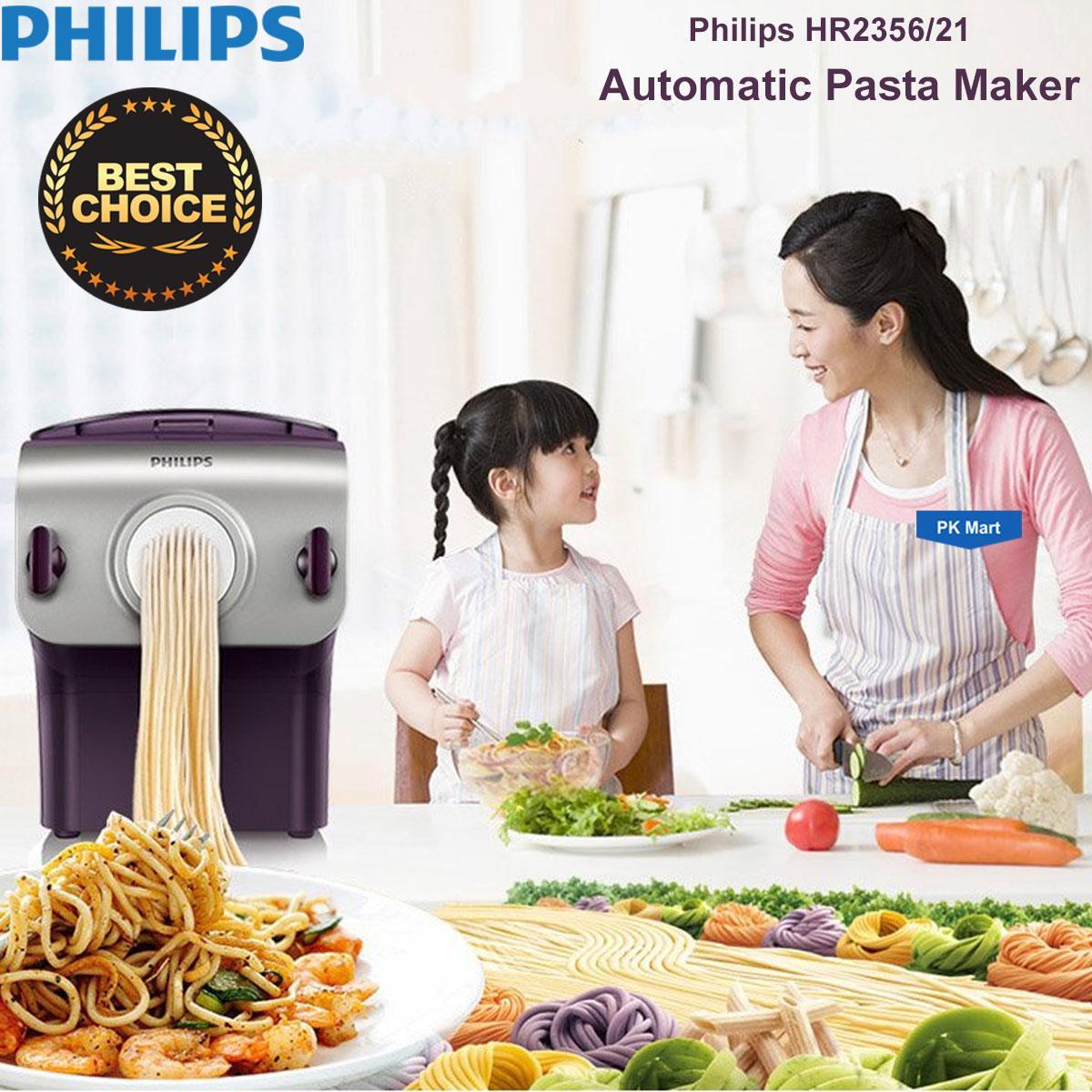 Máy làm mì sợi Philips HR2356 (Tím phối xám) - Hàng nhập khẩu