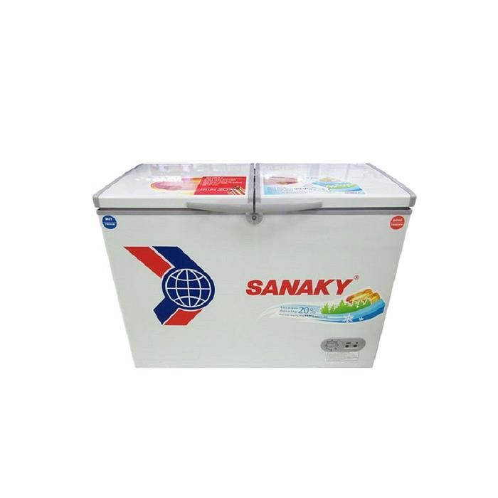Tủ đông mát SANAKY VH2899W1, 2 ngăn 280 Lít