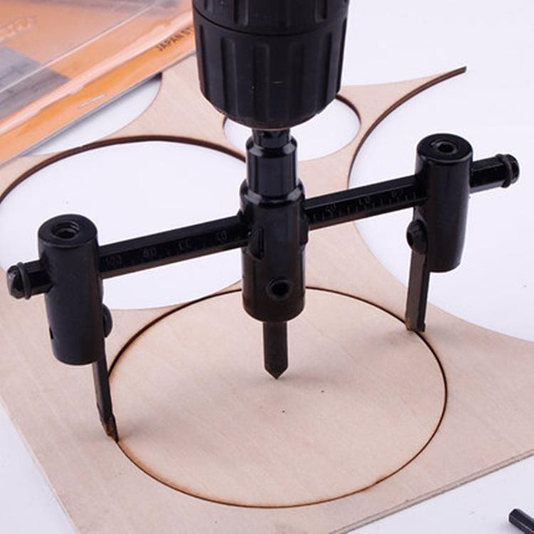 Cách khoét lỗ loa thùng-Mũikhoétgỗtròn tròn 30-120mm điều chỉnh linh hoạt