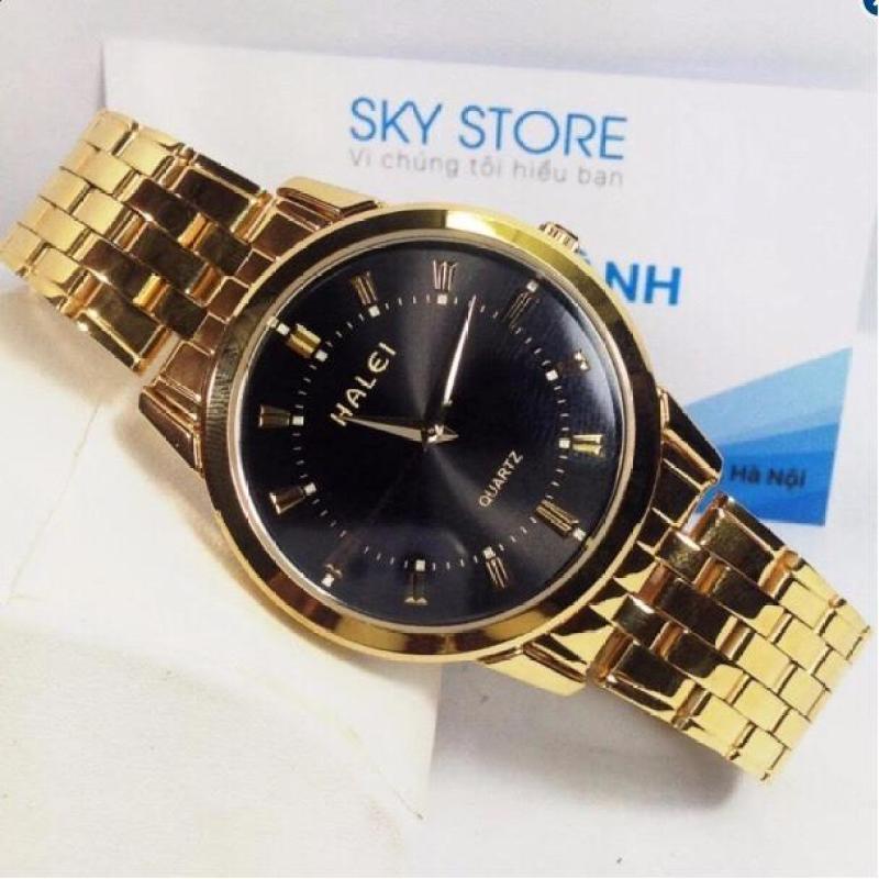 Đồng hồ nam HALEI C105 mạ vàng cao cấp cực đẳng cấp sang trọng