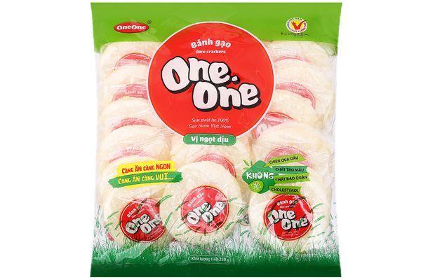 Bánh gạo One One 230g vị ngọt dịu