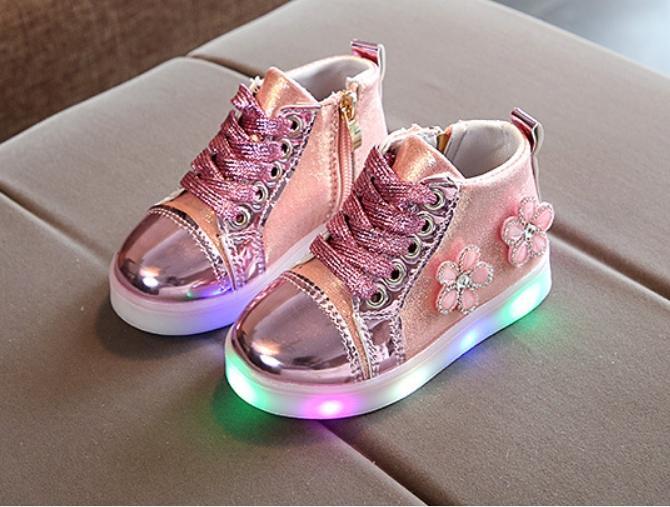 Giày bốt cao cấp bé gái từ 1 đến 8 tuổi