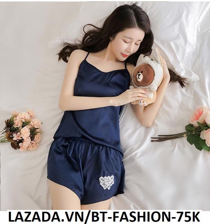 Đồ Bộ, Đồ Ngủ Mặc ở Nhà Thời Trang Mới - BT Fashion (ĐN-Ren Bông 02)