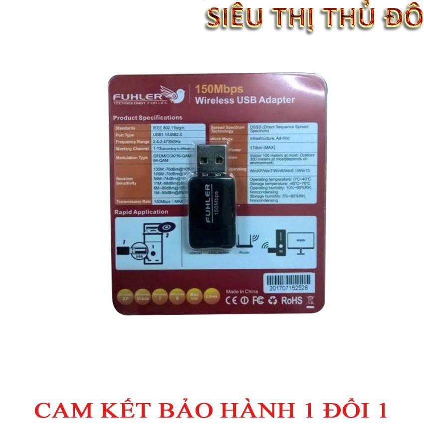 USB thu wifi fuhler FH-150 tốc độ 150Mbps
