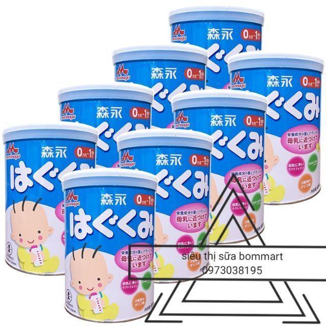 Sữa morigana số 0 nhật bản hộp 850g