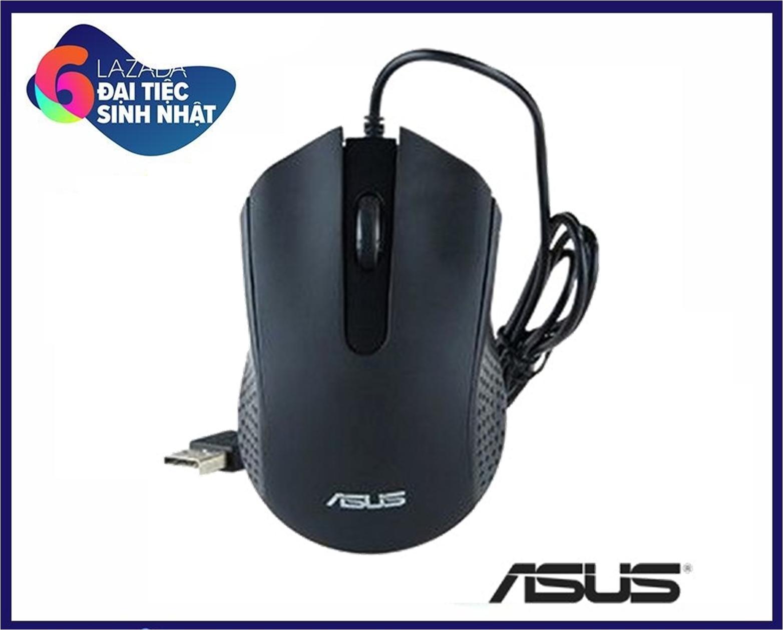 Chuột quang có dây ASUS. Model AE-01, dây dài 1,2m, 1200dpi, chân USB
