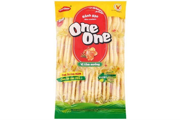 Bánh gạo One One 150g vị tôm nướng