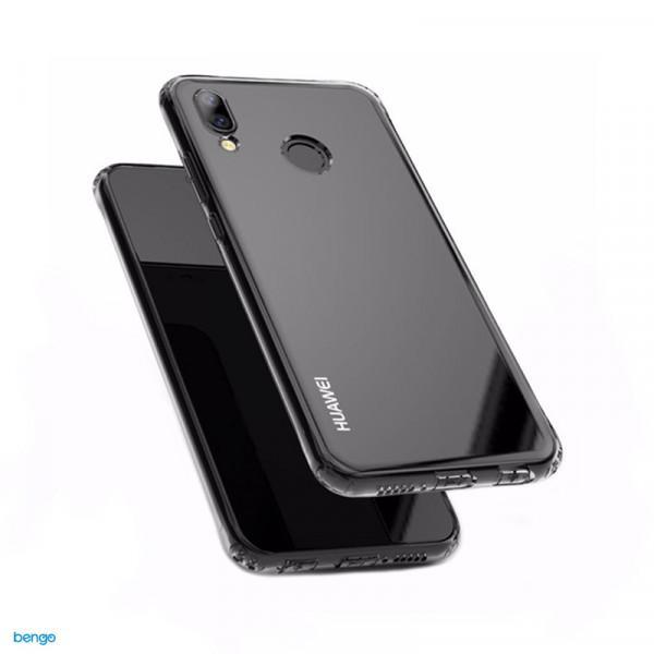 Ốp Silicon cho Huawei Nova 3e / P20 Lite Trong suốt (Loại A+ chống ố vàng)