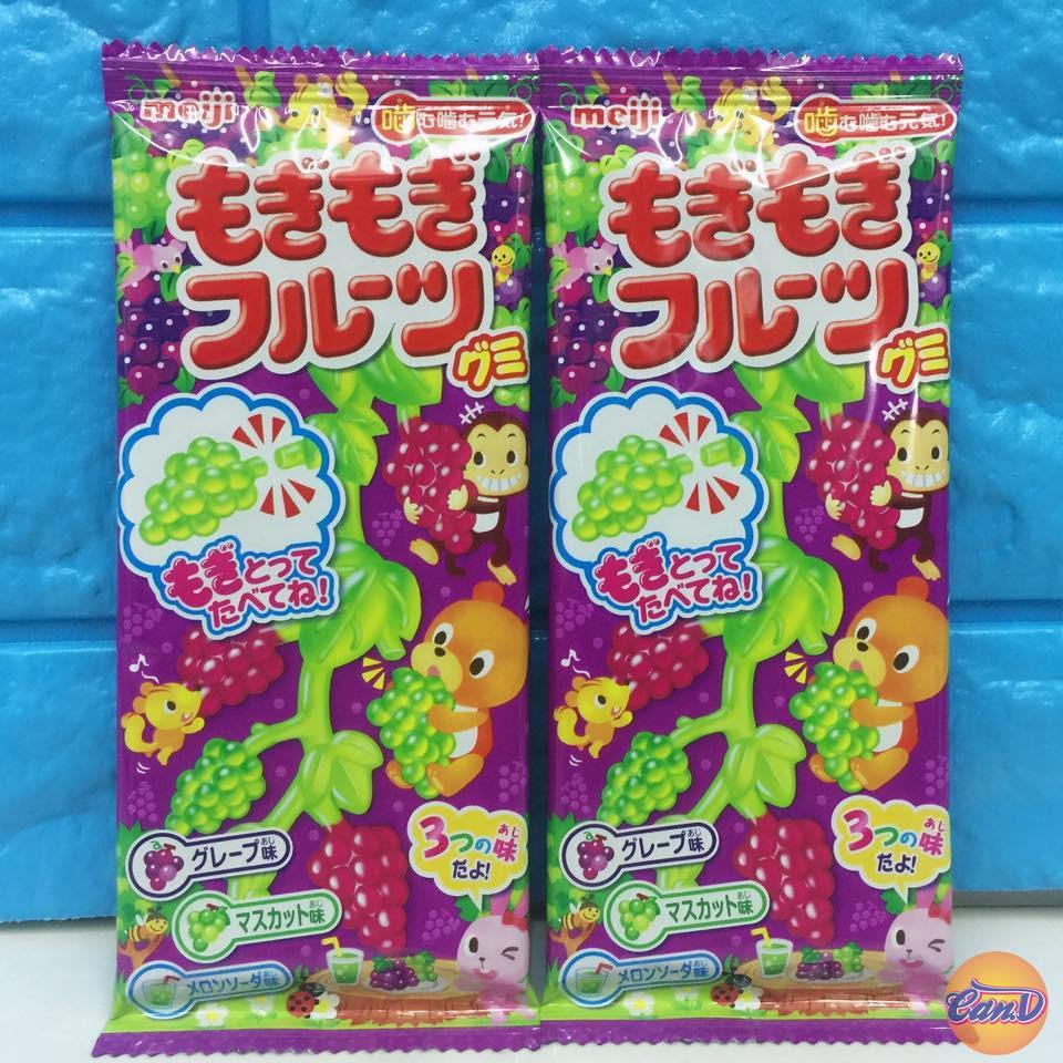 Kẹo dẻo Meiji hình chùm nho 25gr