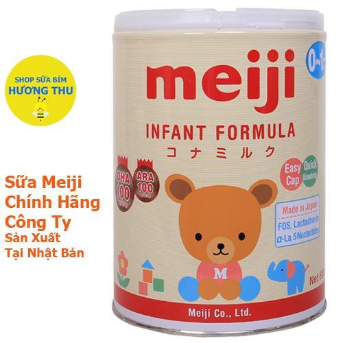 Sữa Bột Meiji Infant Formula số 0-1 lon 800g (dành cho bé từ 0 -12 tháng tuổi)