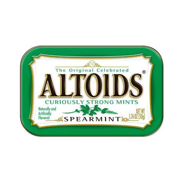 KẸO NGẬM BẠC HÀ MỸ ALTOIDS (3 loại)