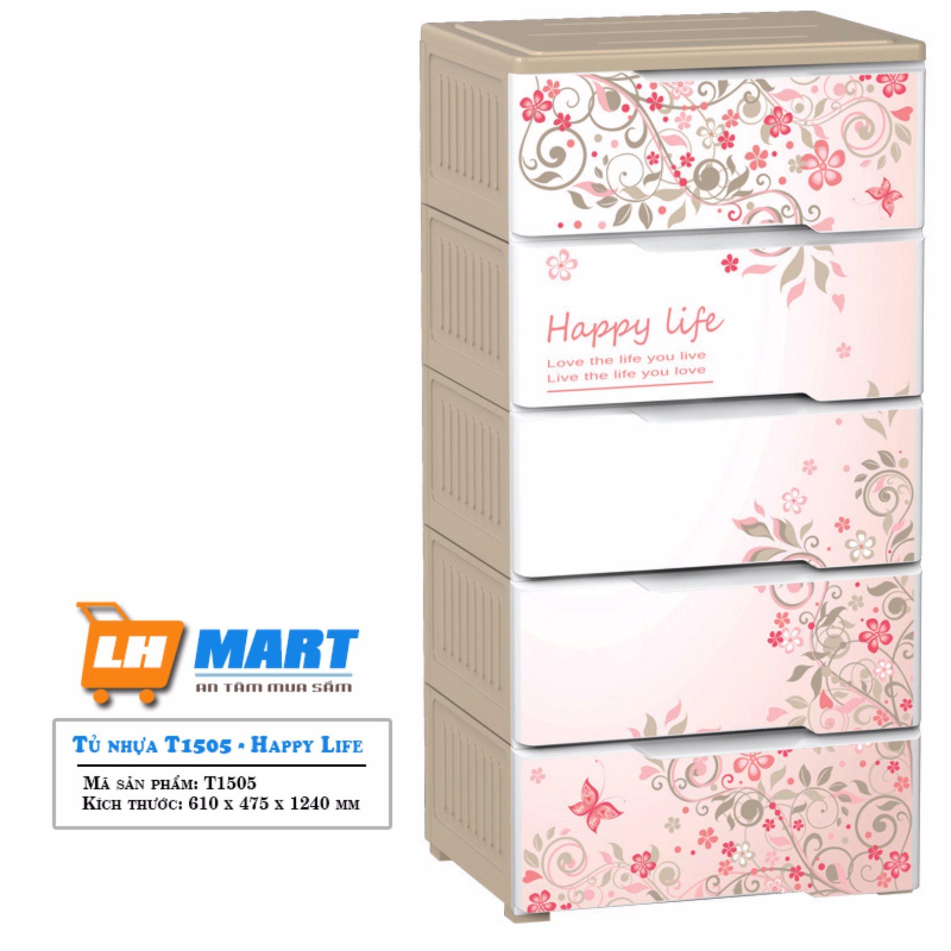 Tủ nhựa Đại Đồng Tiến Happy Life