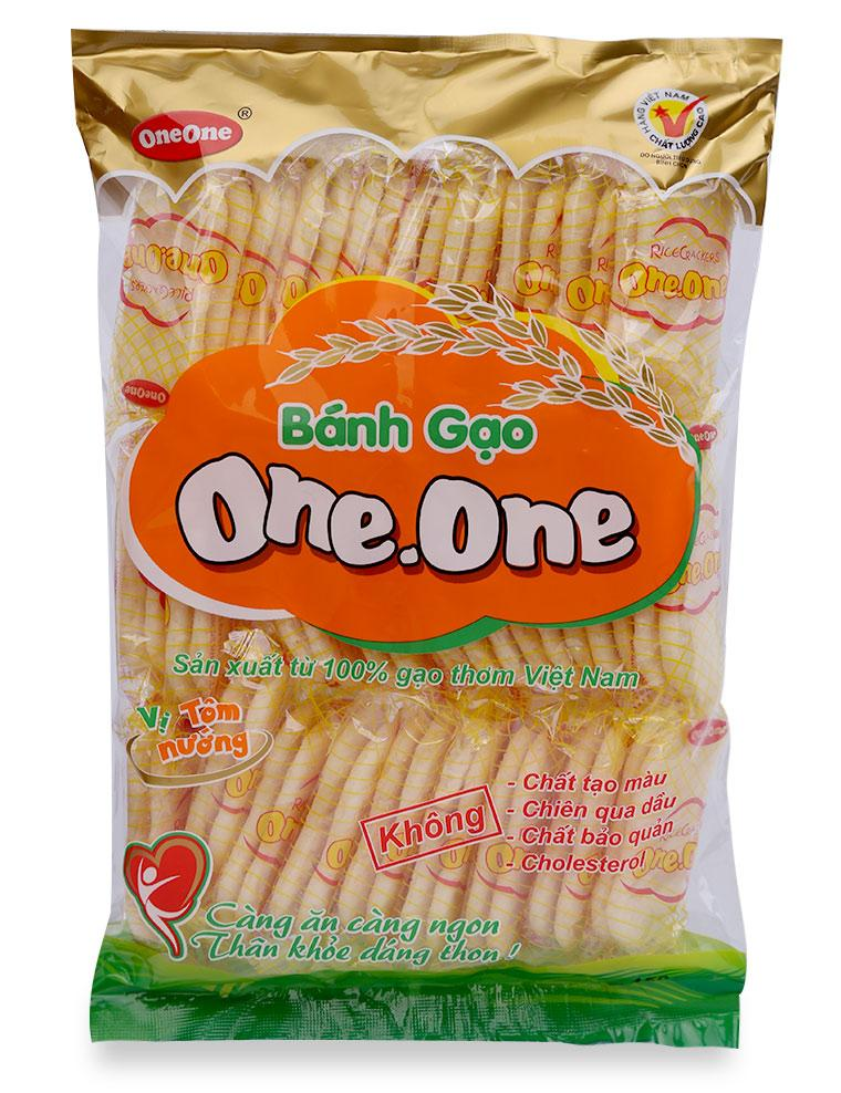Bánh Gạo Vị Tôm Nướng One One Gói 150G