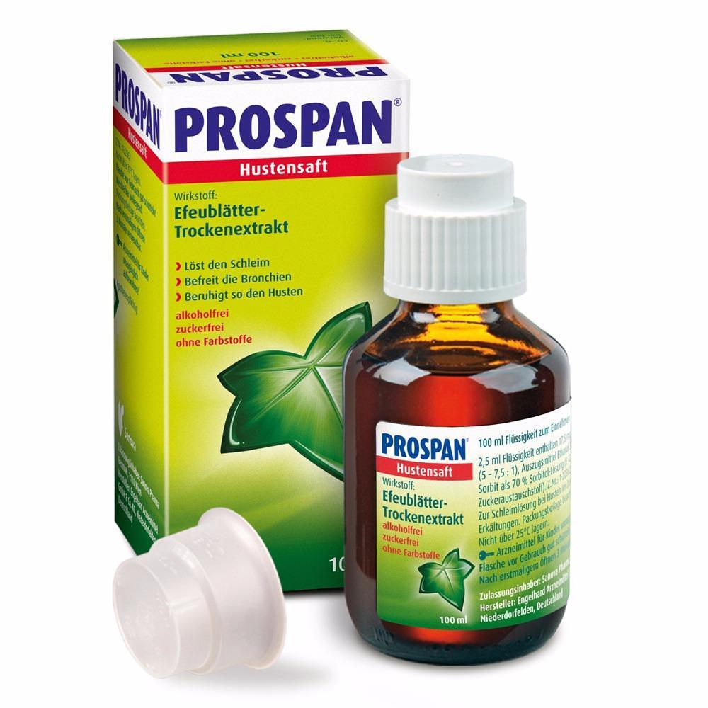 Thuốc ho cho bé Prospan 100ml của Đức