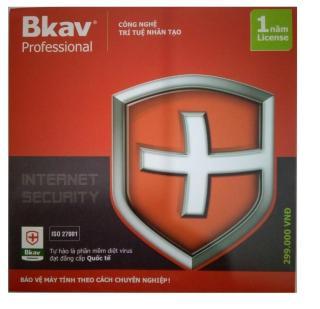 Phần mềm diệt virus Bkav Pro - Internet Securty 1 năm thumbnail