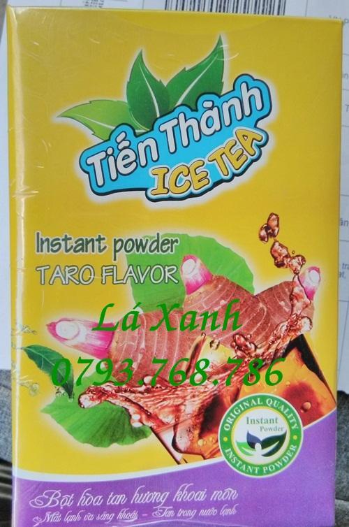 Trà Khoai Môn Hòa Tan Hộp 24 Gói