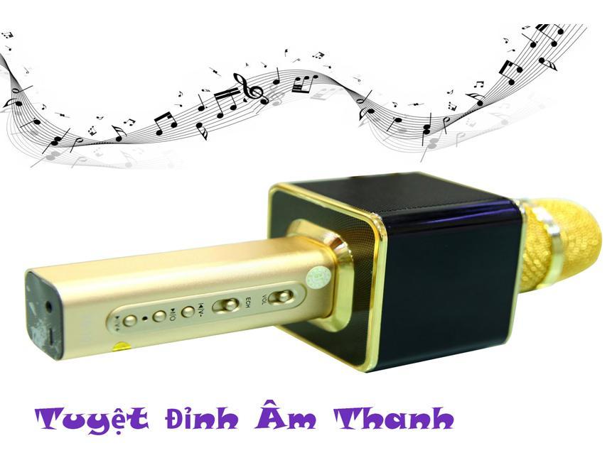 Micro Karaoke Ys 10, Micro Bluetooth Ys10 K1219 Âm Trầm, Thanh Trong Không Rè Bảo Hành 1 Đổi 1 Trong 12 Tháng