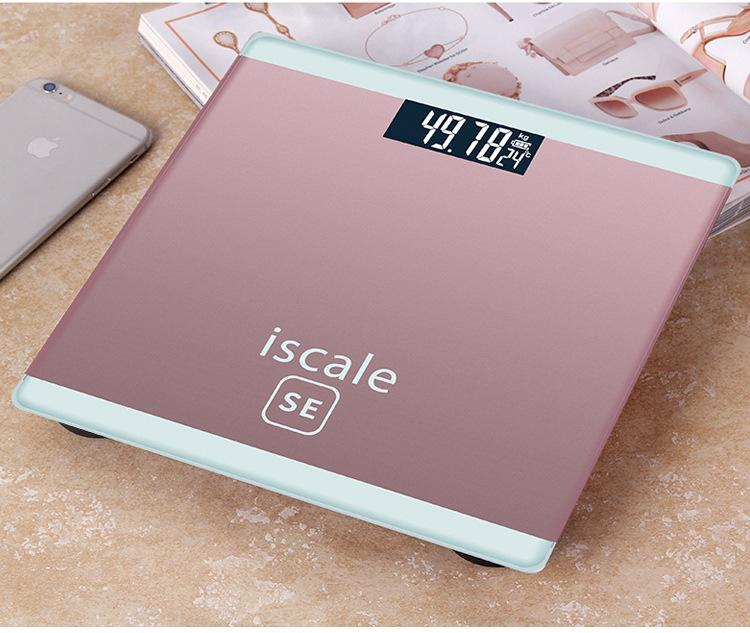 Cân sức khỏe điện tử Iscale SE Max 180kg - Tặng kèm thước dây