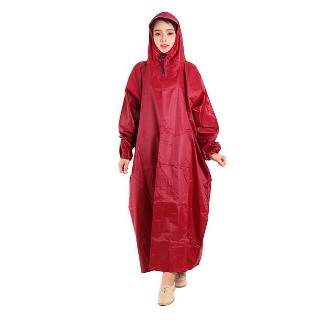 Áo mưa bít vải dù trơn