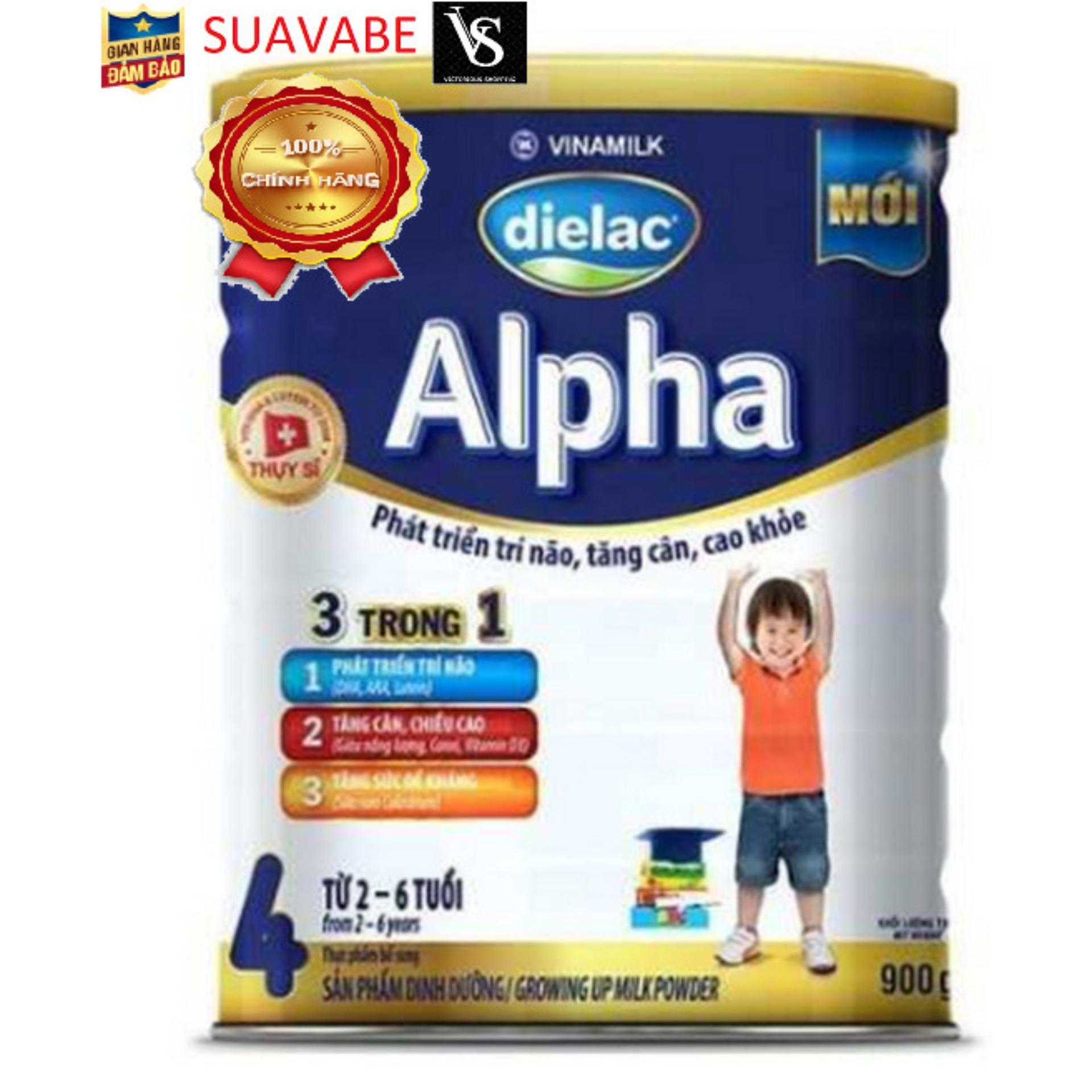Sữa Dielac Alpha Step 4 - Vinamilk - 900g