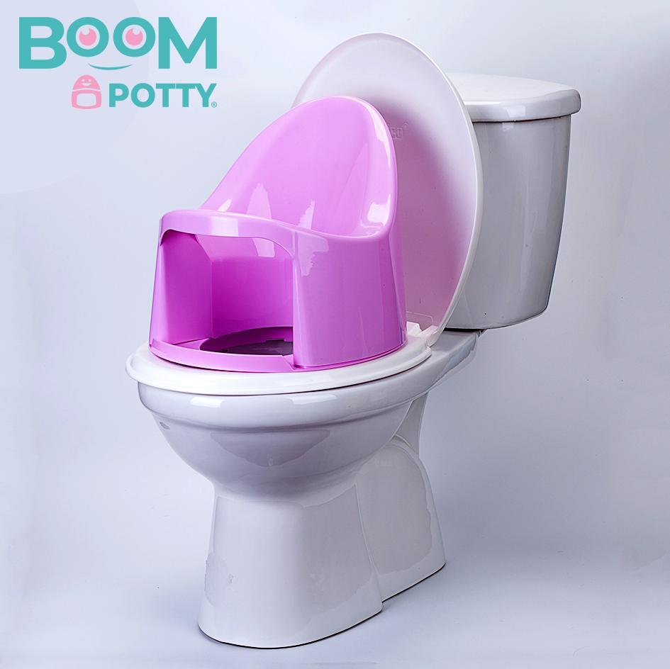 Bô chống táo bón cho trẻ 1 tuổi Boom Potty