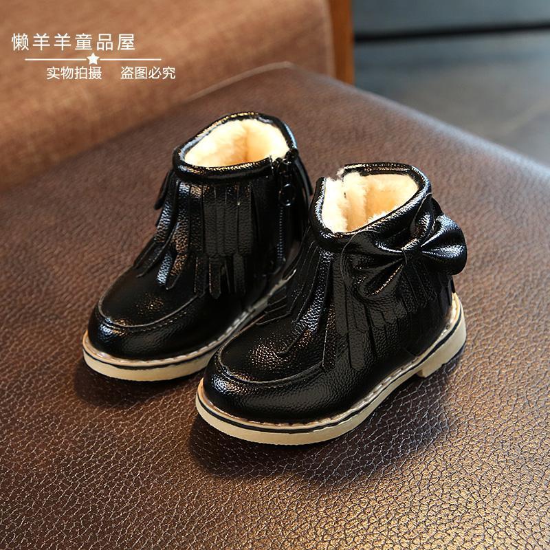 Sepatu belajar jalan Sepatu Anak berusia setengah tahun Bayi perempuan  musim gugur musim dingin Sepatu 1 326963ddc4