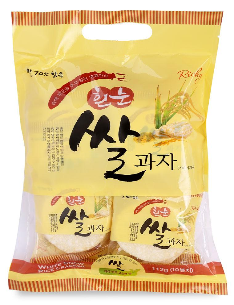 Bánh Gạo Richy Hàn Quốc - Gói 112 G
