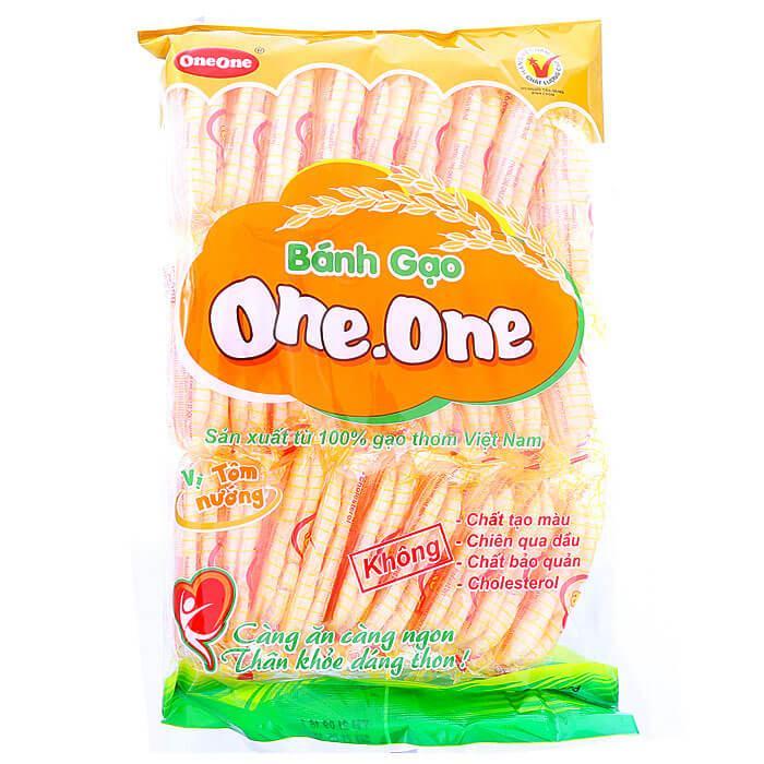 Bánh gạo One-One hương vị tôm nướng 150g