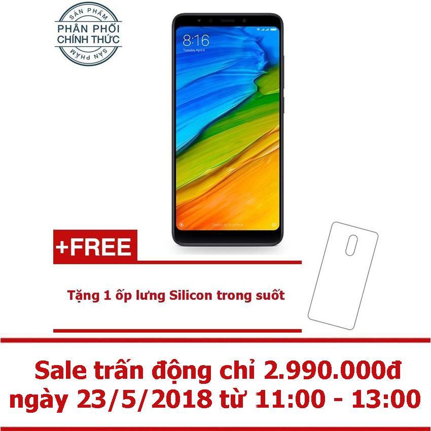 Xiaomi Redmi 5 32GB Ram 3GB (Đen) - Hãng phân...