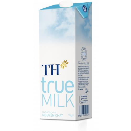 Sữa Tươi Tiệt Trùng TH True Milk Nguyên Chất Hộp 1 L