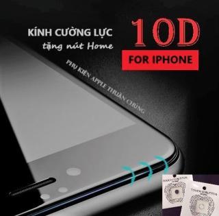 Kính cường lực 10D (Cao Cấp) full màn hình Iphone 6,6s,7,8,x,6p,6sp,7p,8p,X ( vui lòng chọn đúng dòng điện thoại + màu trong mục Lựa Chọn) thumbnail