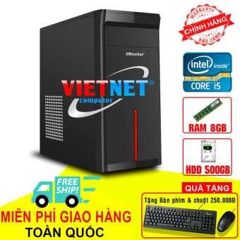 máy tính để bàn intel core i5 2400 ram 8gb hdd 500gb (chuyên game lol, fifa, đột kích v.v...)