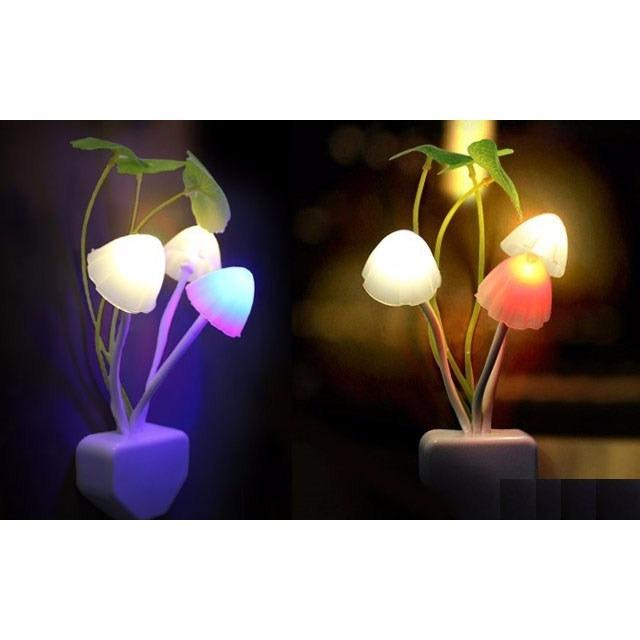 Đèn ngủ cảm ứng hình cây nấm