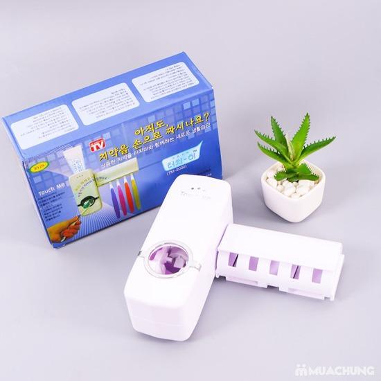 Dụng cụ lấy kem đánh răng tự động Touch Me (Made in Korea)