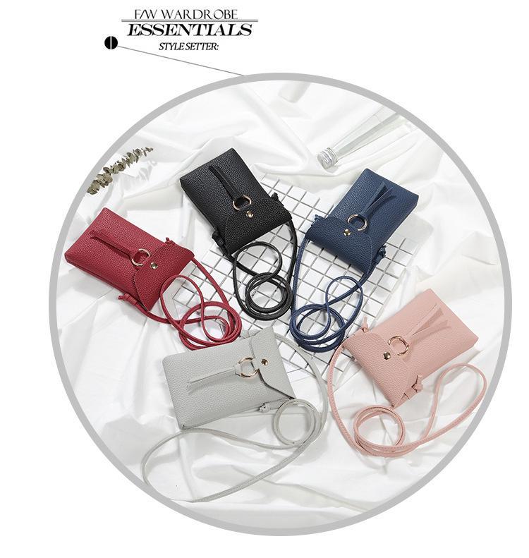 Túi đeo chéo đựng điện thoại xinh xắn cho bạn gái (Xanh) GR223