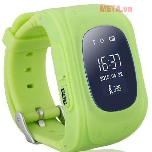 Đồng hồ định vị GPS Q50  siêu rẻ - Xanh cây