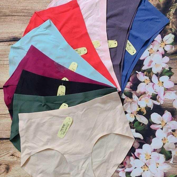 Hình ảnh Sỉ lẻ 5 quần lót đúc nữ thông hơi không đường may, quần chip nữ ( Nhiều màu )