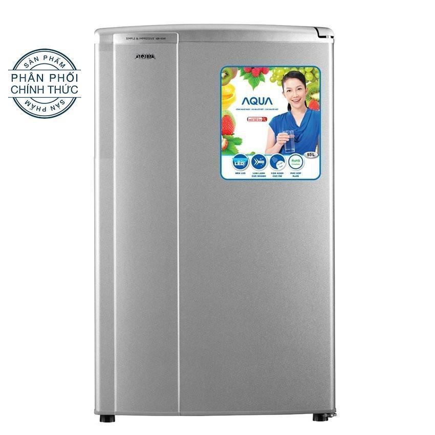 Tủ lạnh 1 cửa Aqua AQR - 95ER(SS) 90L (Bạc)