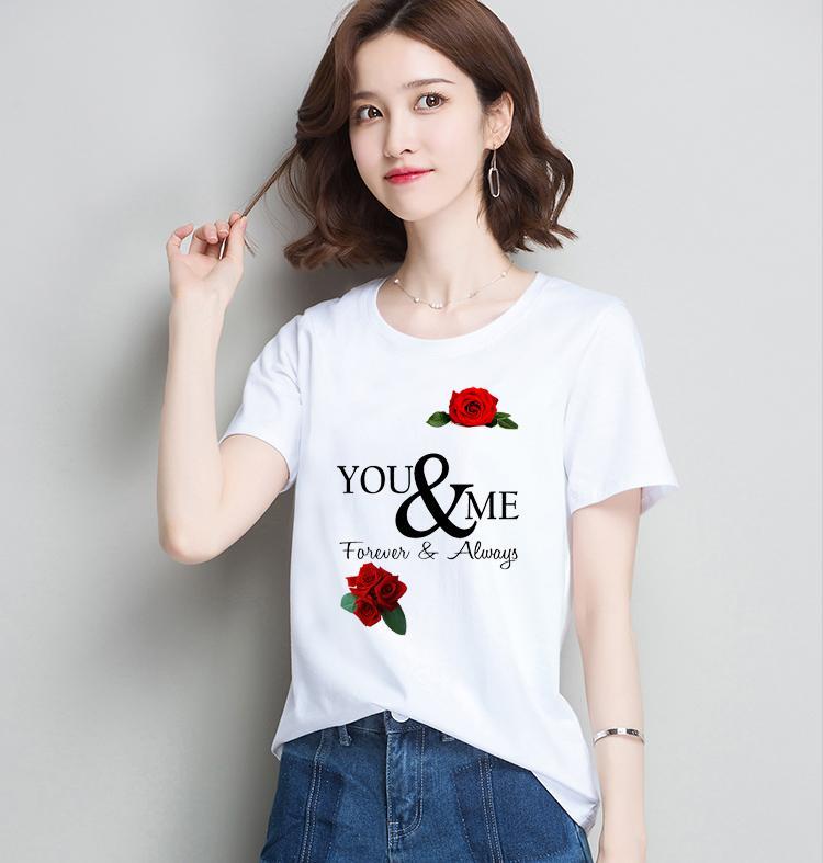 AOTHUN102 áo thun nữ form rộng hàn quốc in chữ You and me ATNK1125