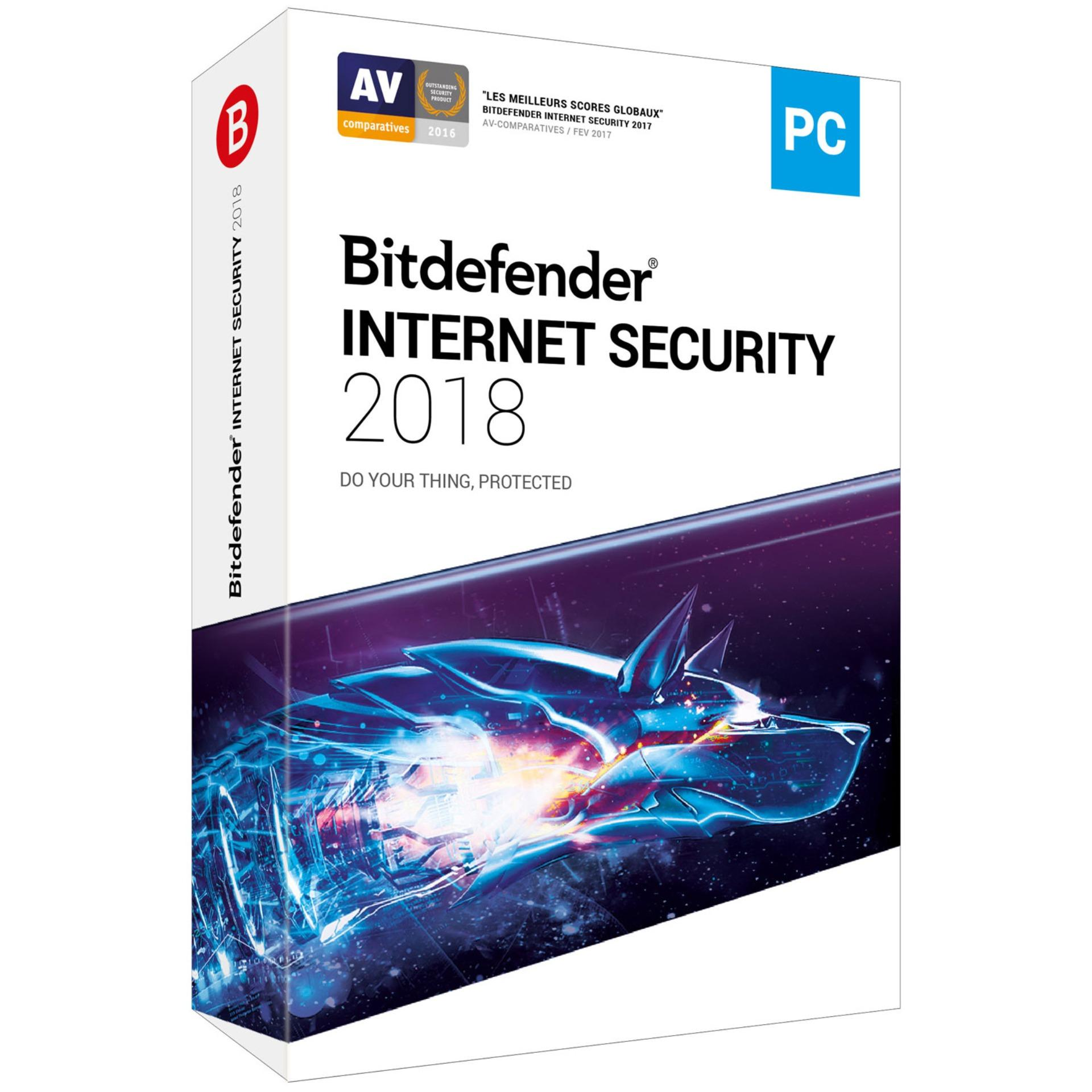 Phần mềm diệt virus Bitdefender Internet Security 2018
