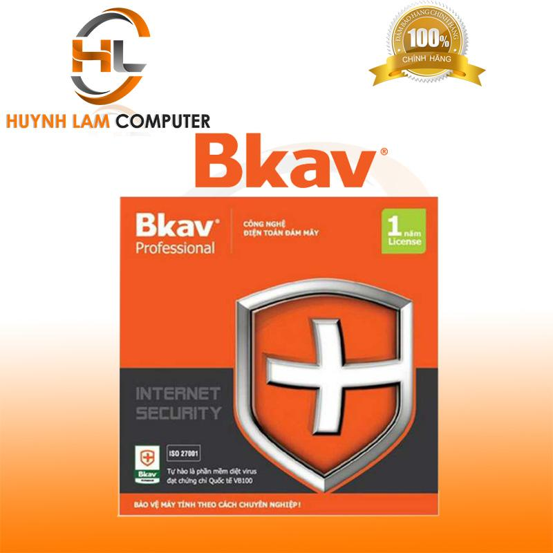 Phần mềm diệt virus BKAV Pro 1 pc/năm - Hãng phân phối