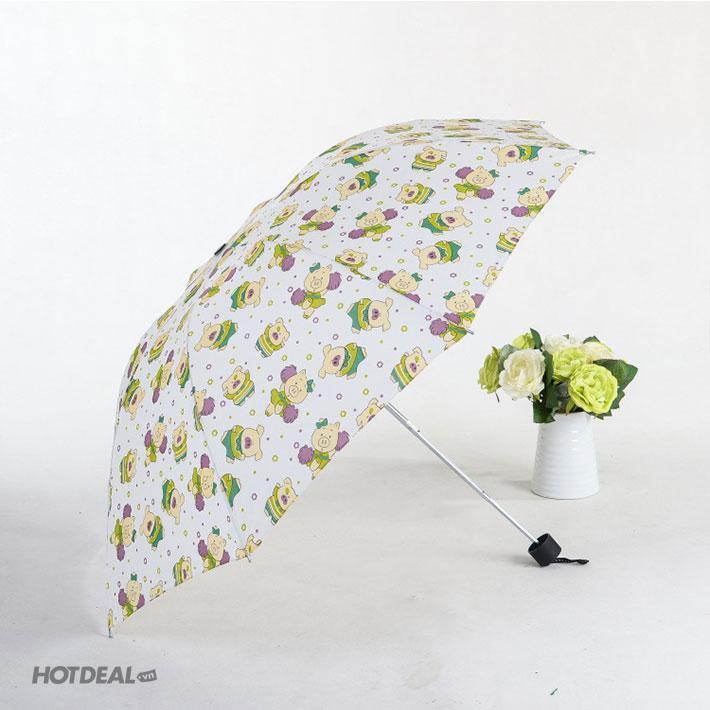 Ô/ Dù che nắng che mưa bỏ túi siêu gọn cho du lịch 2019 (Họa tiết ngẫu nhiên)- GDTL