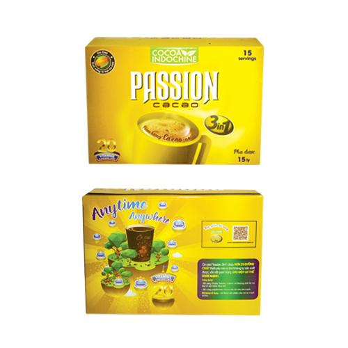 Cacao Passion  3 in 1 (15 gói x 16g)